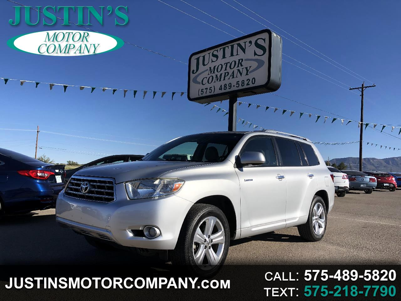 Toyota Highlander FWD 4dr Limited (Natl) 2008