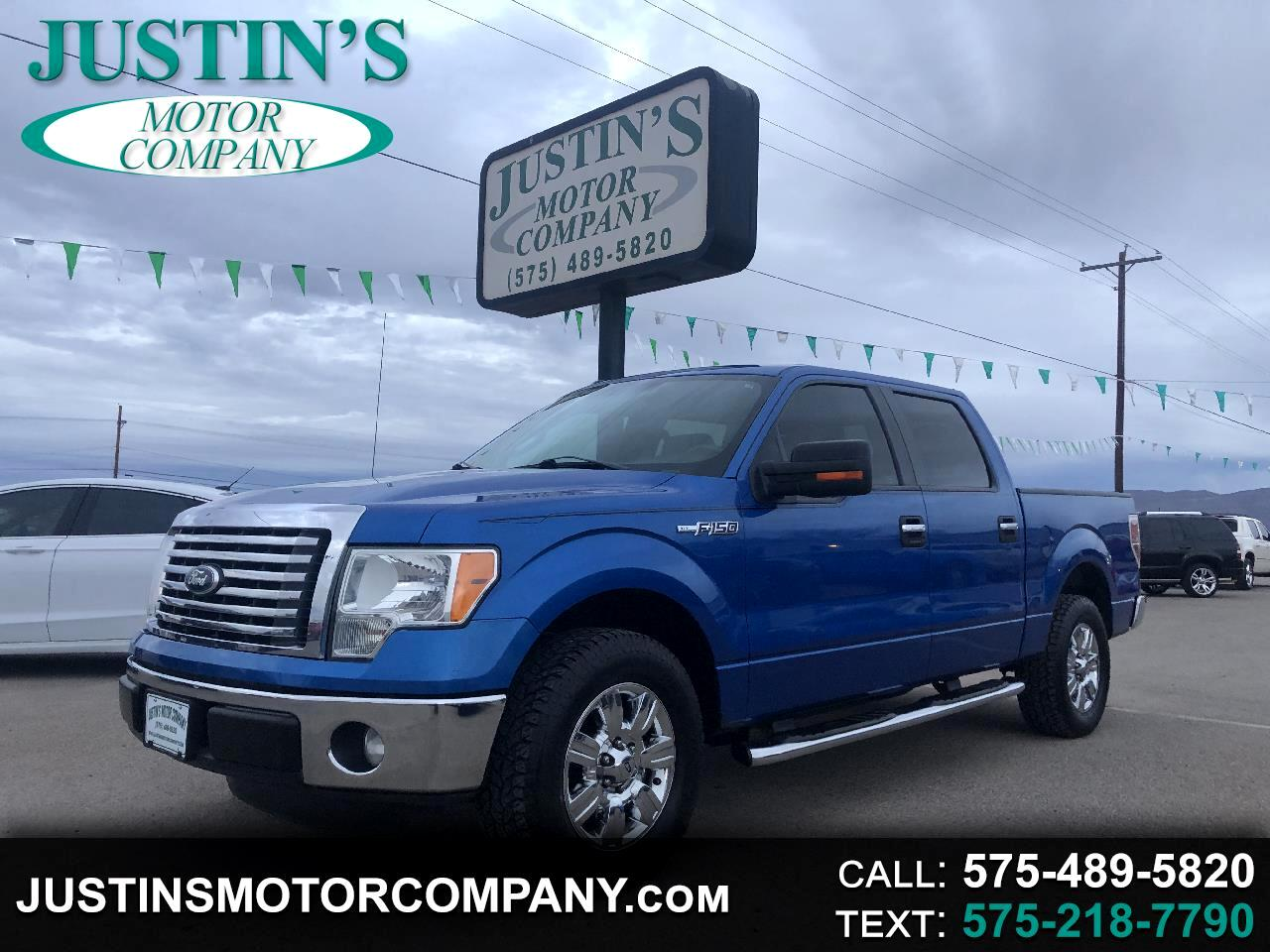 "Ford F-150 2WD SuperCrew 139"" XLT 2012"