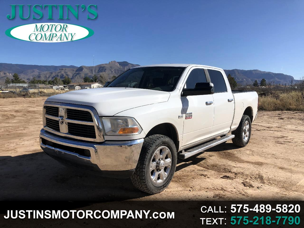 Dodge Ram Pickup 2500 SLT Quad Cab Long Bed 4WD 2011