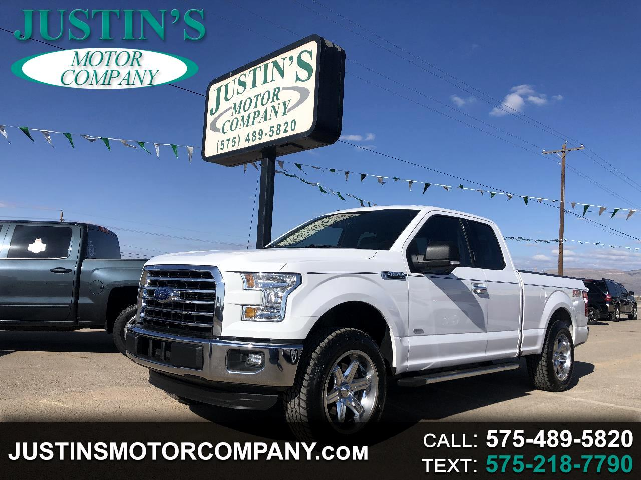 "Ford F-150 2WD SuperCab 145"" FX2 2016"