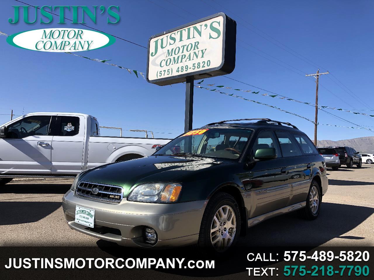 Subaru Legacy Wagon 5dr Outback H6 VDC 2002