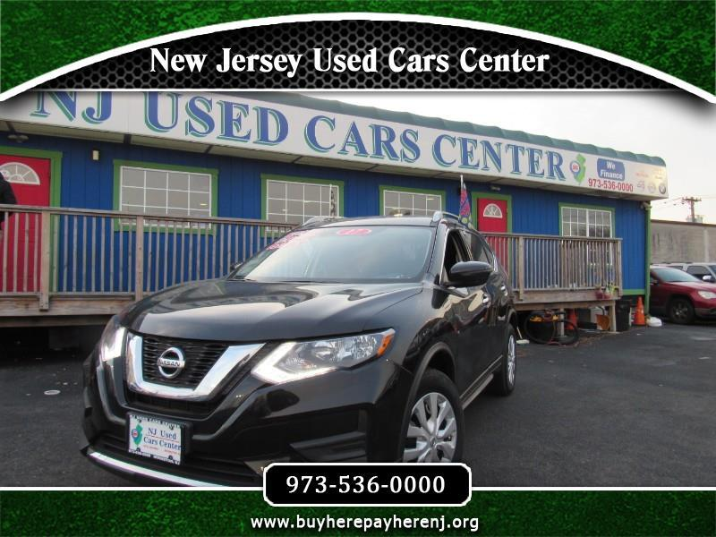 Nissan Rogue AWD 4dr S 2017