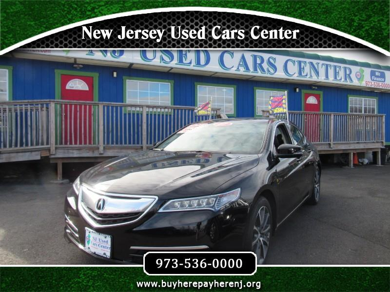 Acura TLX 9-Spd AT w/Technology Package 2017