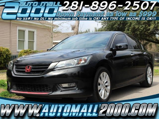 2013 Honda Accord EX-L Sedan AT with Navigation