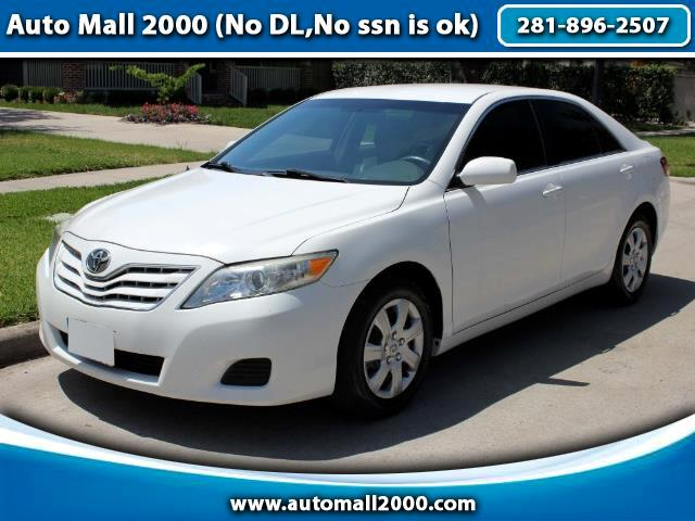 Toyota Camry 4dr Sdn LE Manual (Natl) 2011