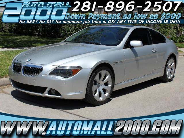 BMW 6-Series 650i Coupe 2006