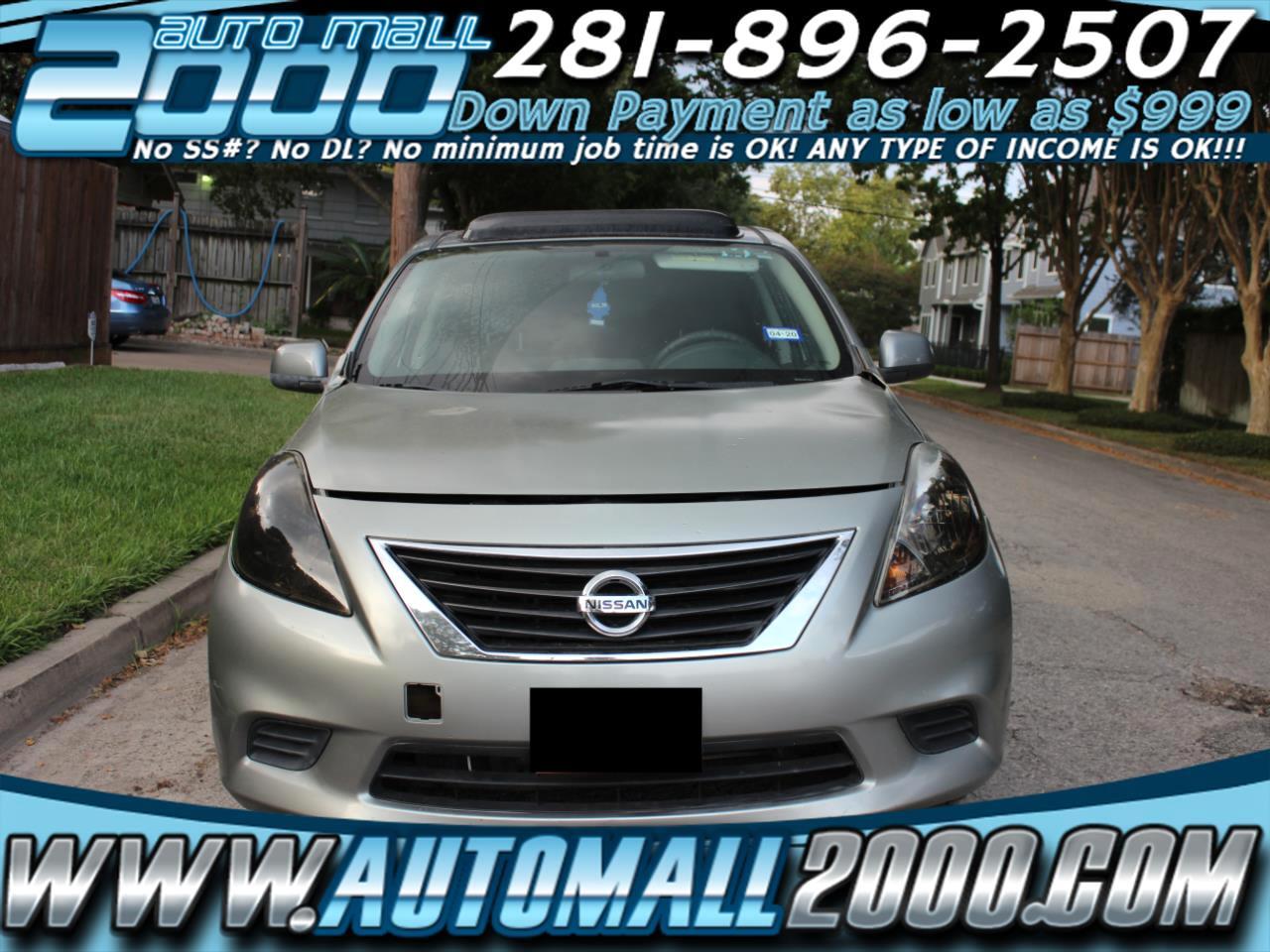 Nissan Versa 1.6 S Sedan 2012