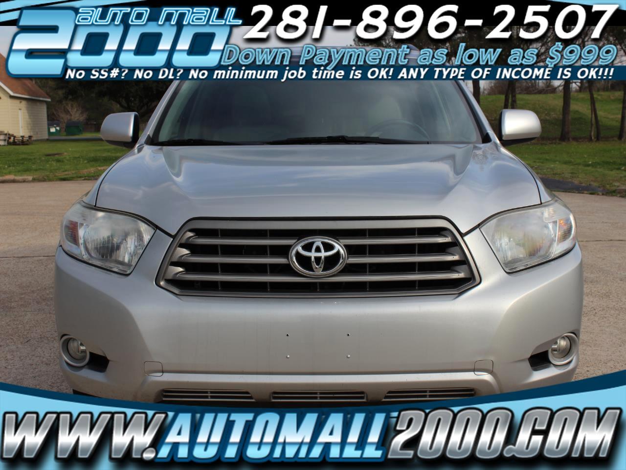 Toyota Highlander Limited FWD V6 2010