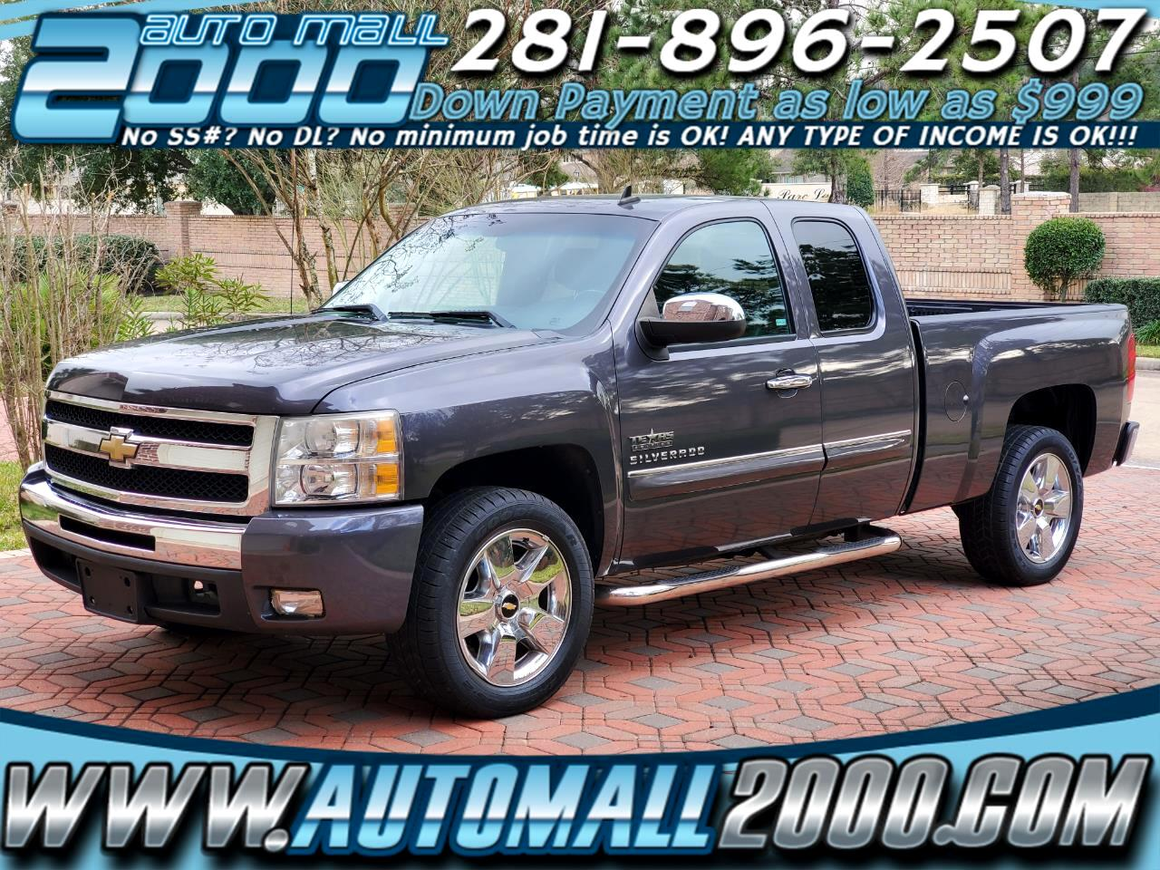 Chevrolet Silverado 1500 LT Ext. Cab Long Box 2WD 2011