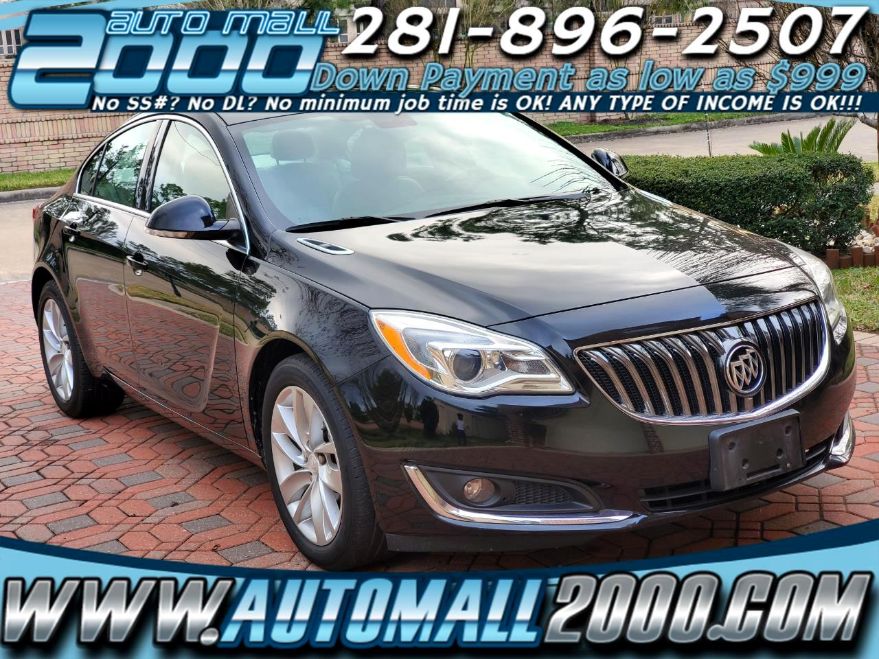 Buick Regal Turbo FWD 2016