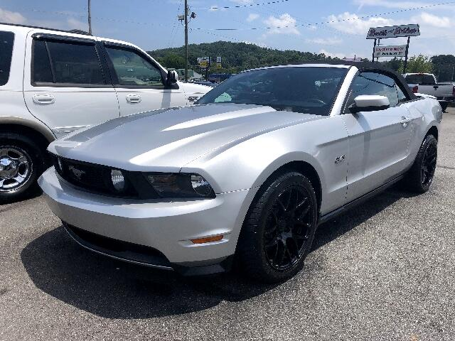 2011 Ford Mustang GT Premium Convertible