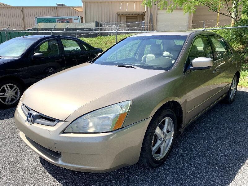 2003 Honda Accord EX-L Sedan