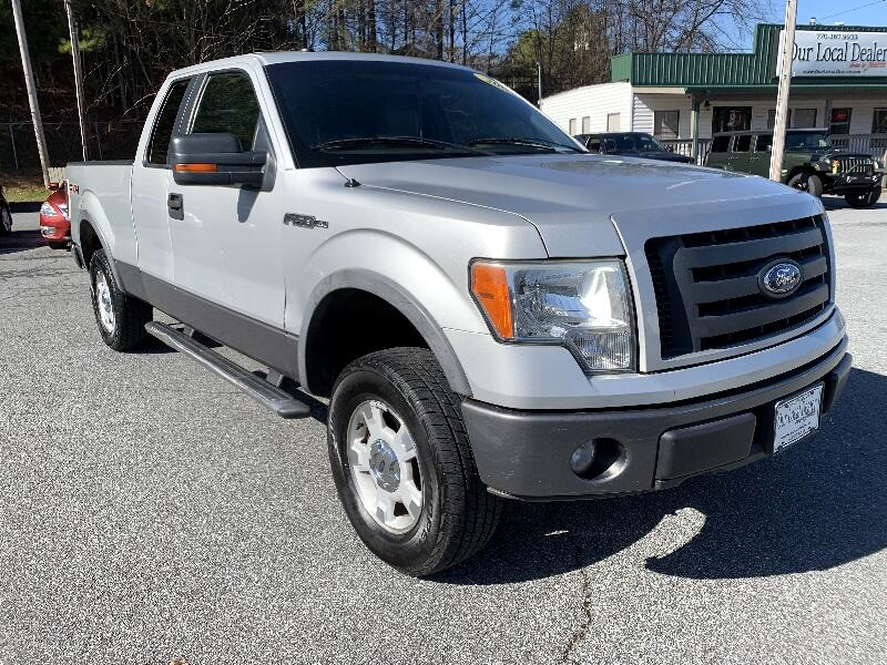 """Ford F-150 4WD SuperCab 145"""" FX4 2009"""
