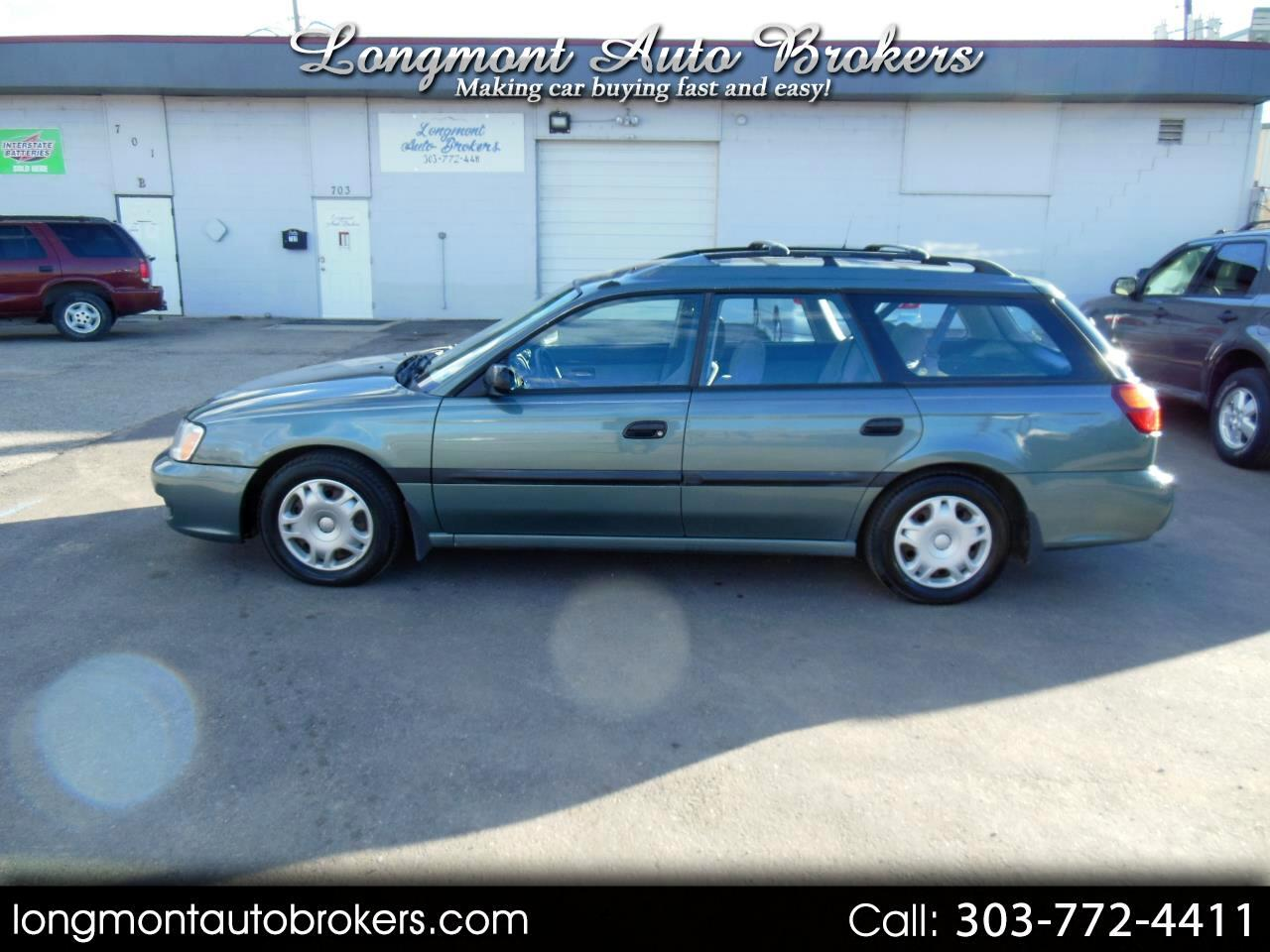 2000 Subaru Legacy Wagon 5dr L Manual