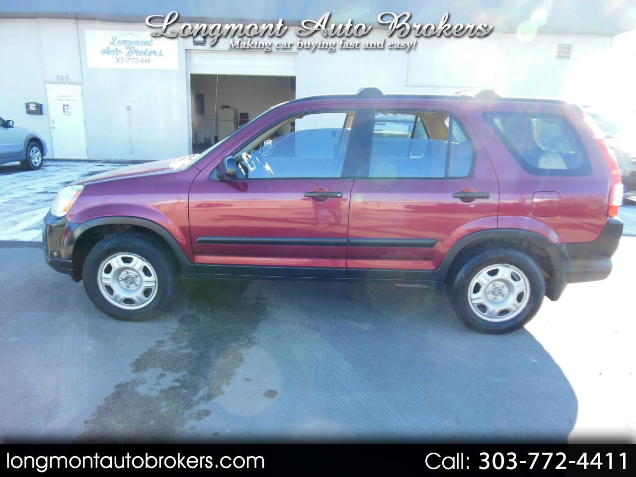 2006 Honda CR-V 4WD LX AT