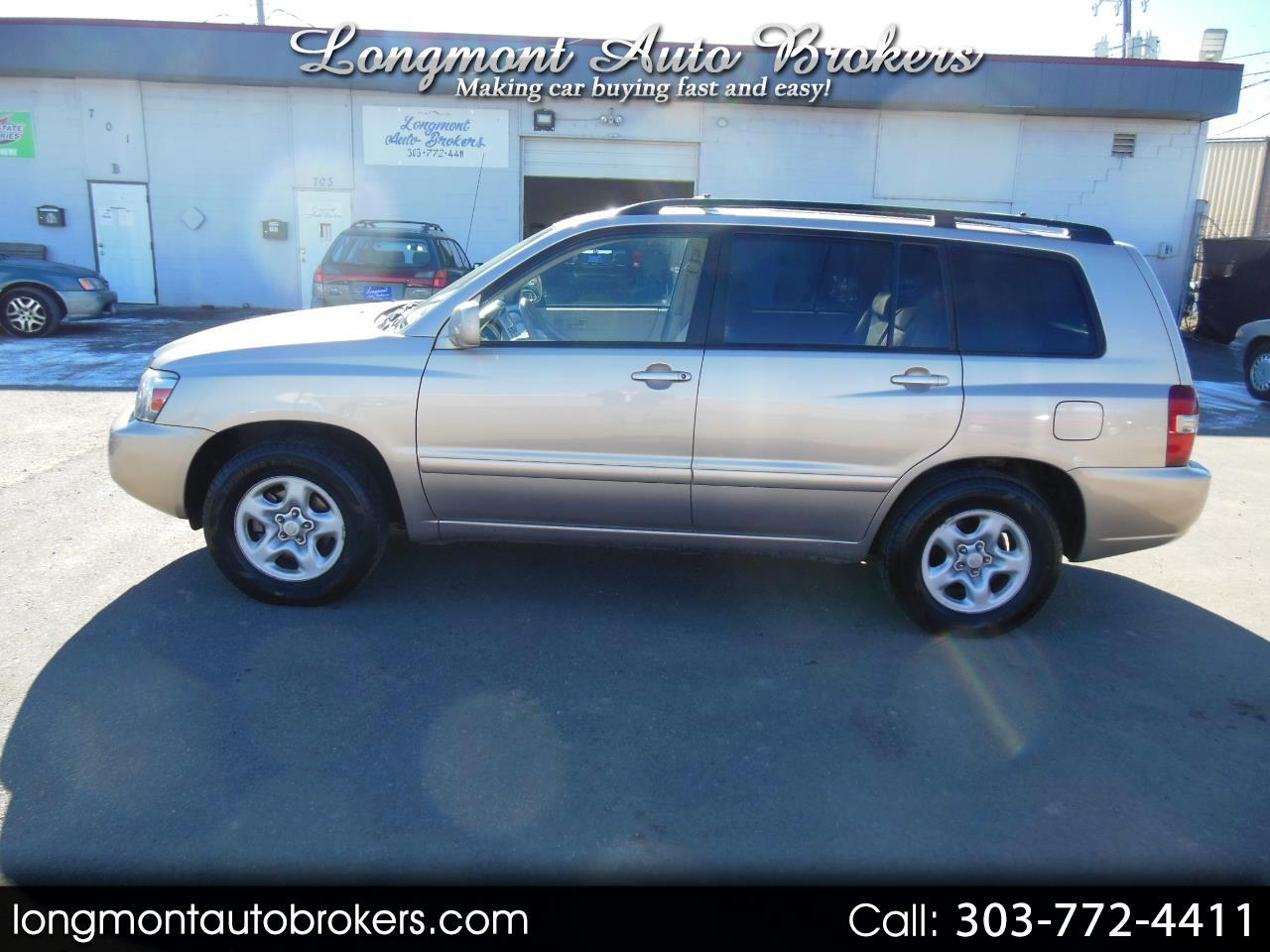 2007 Toyota Highlander 2WD 4dr 4-Cyl w/3rd Row (Natl)