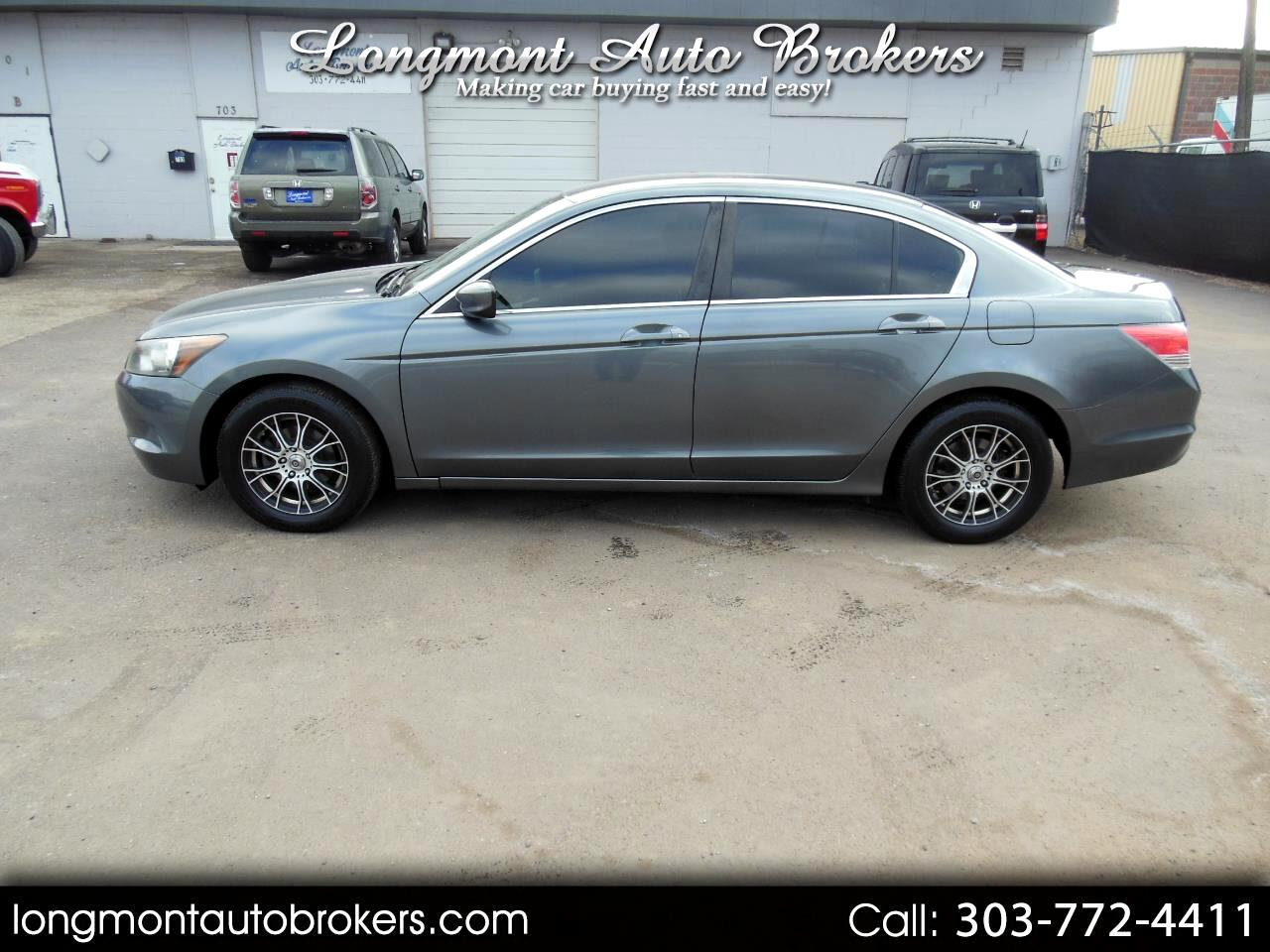 2008 Honda Accord Sdn 4dr I4 Man LX-P