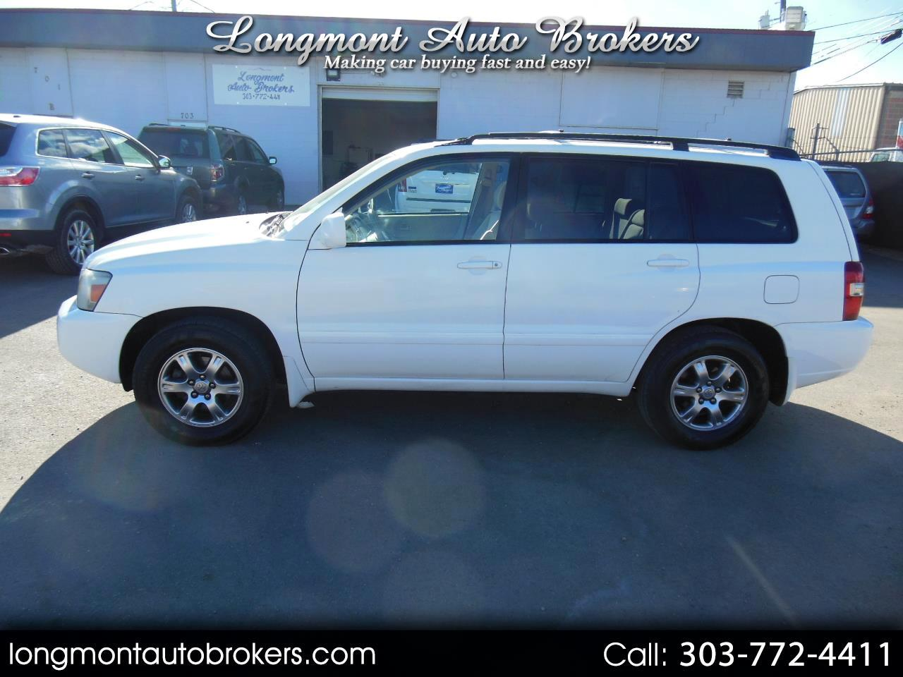 2004 Toyota Highlander 4dr V6 w/3rd Row (Natl)