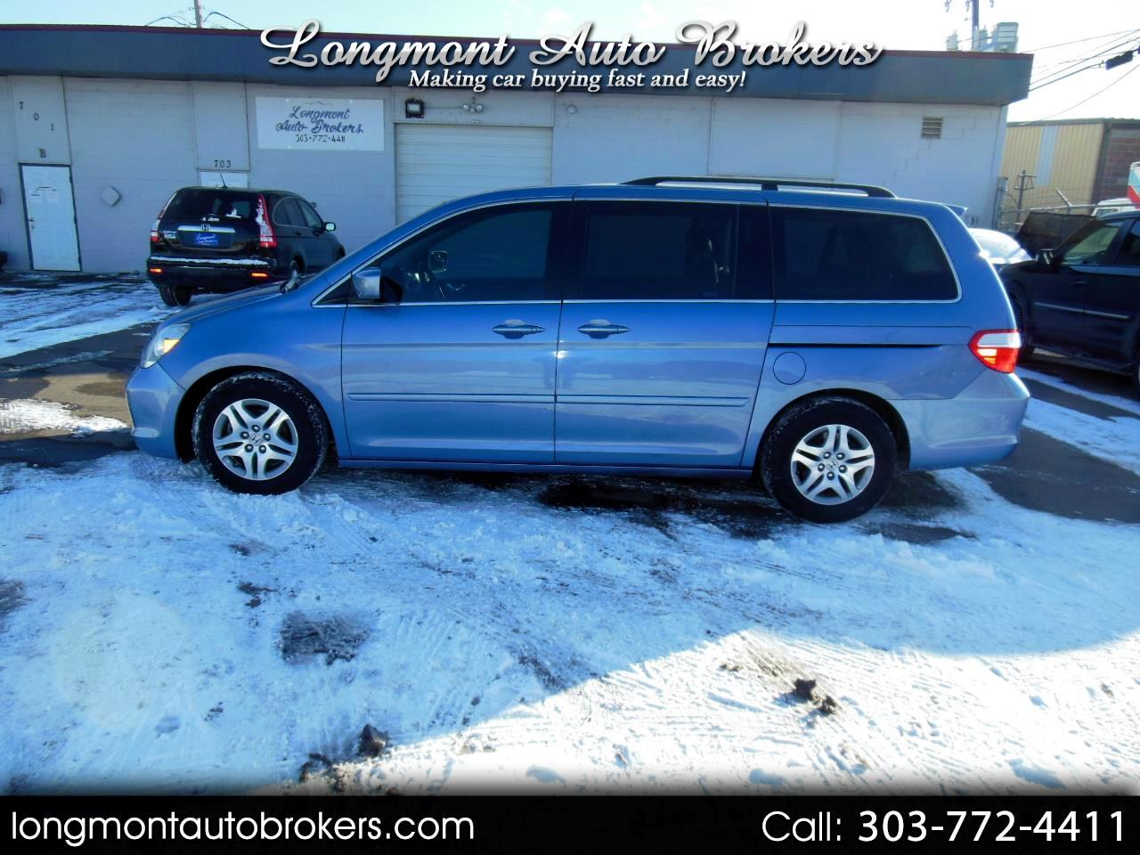 2007 Honda Odyssey 5dr EX-L RES w/DVD/Leather