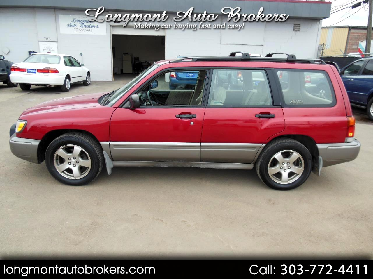 1999 Subaru Forester 4dr S Auto QU All Weather Pkg AWD