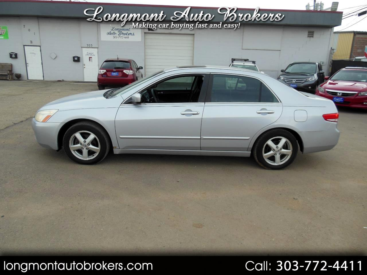 2004 Honda Accord Sdn EX Auto