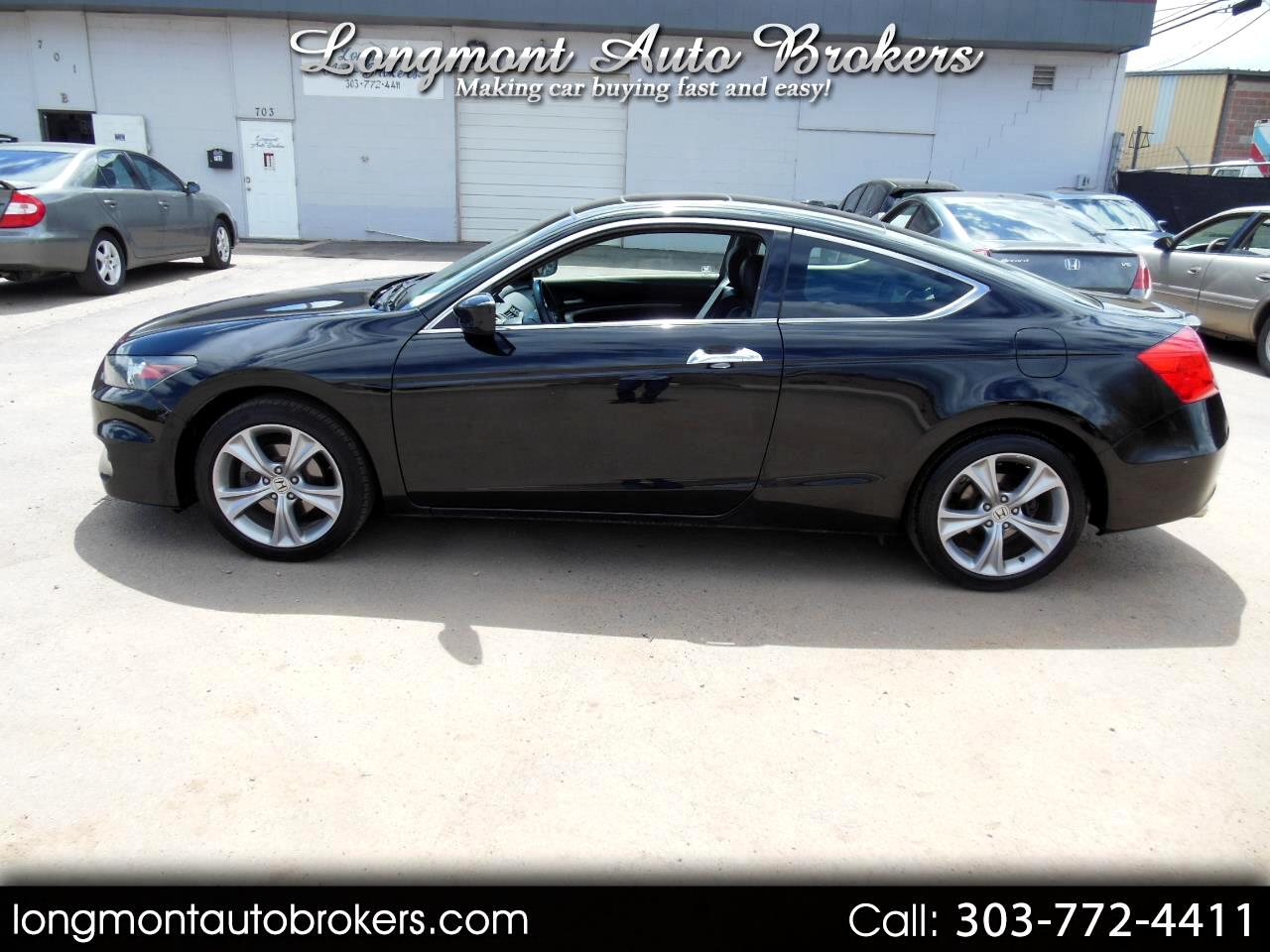 2012 Honda Accord Cpe 2dr V6 Man EX-L
