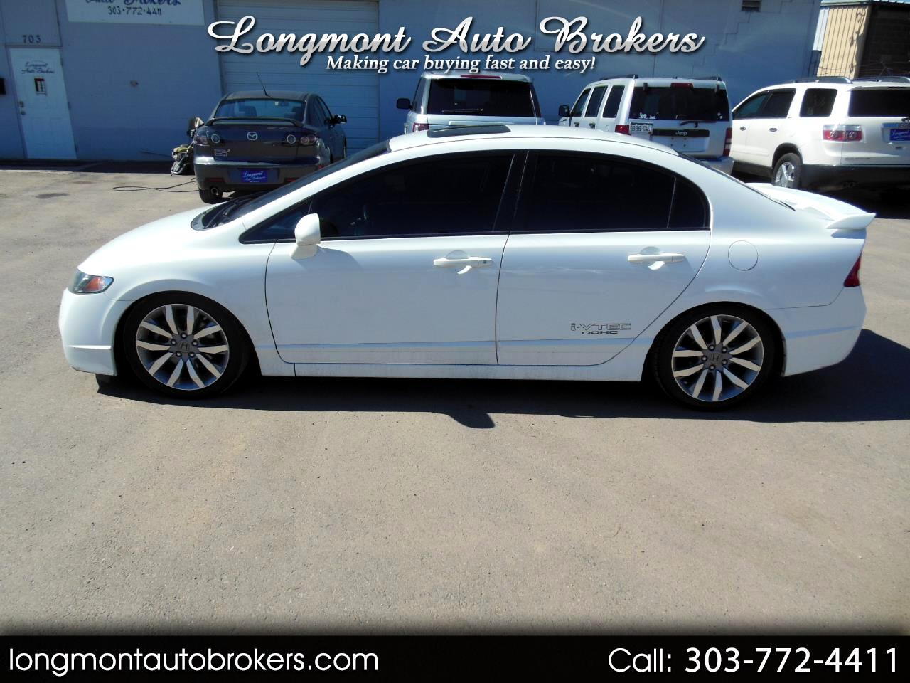 2009 Honda Civic Sdn 4dr Man Si