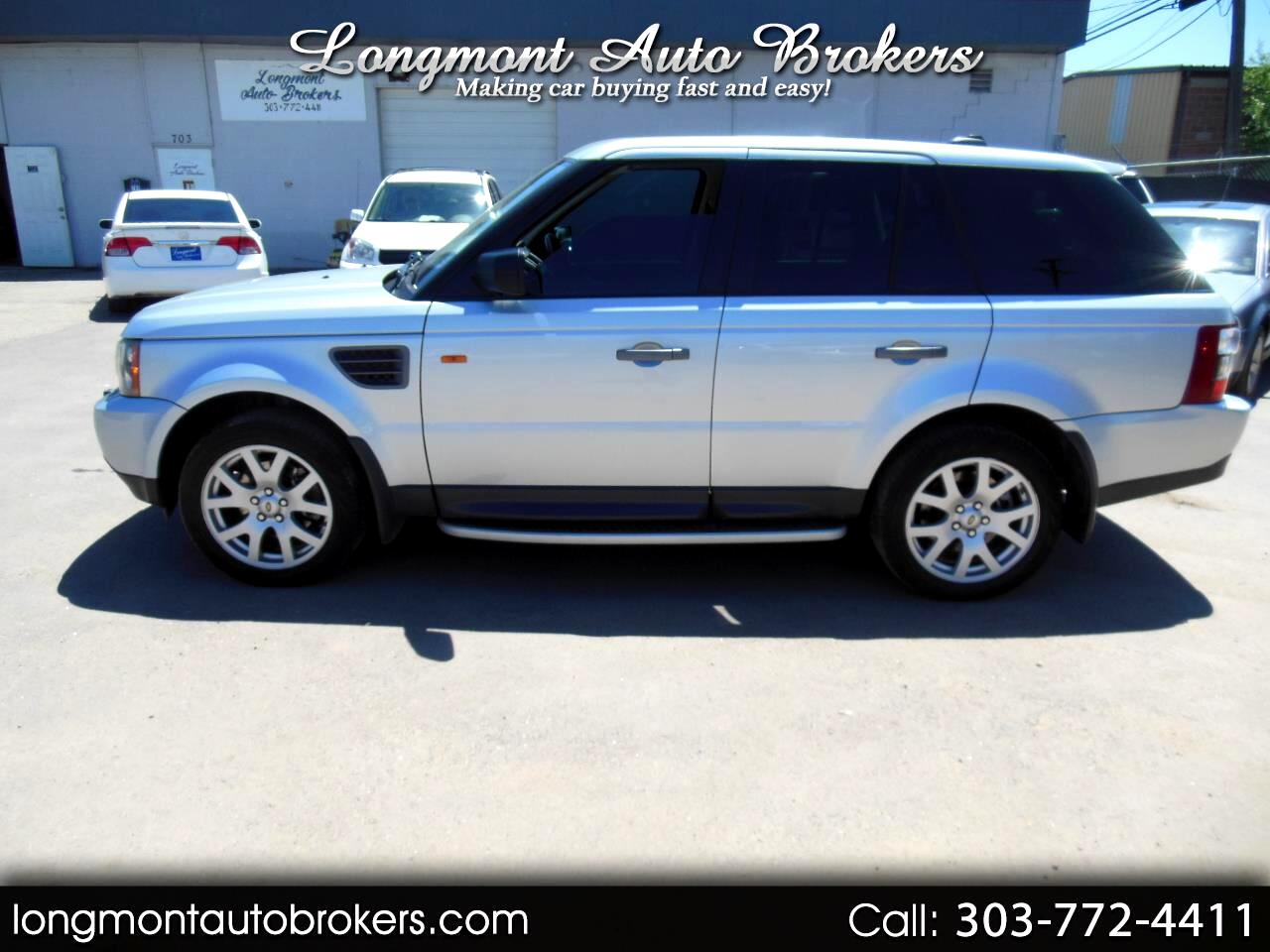 2006 Land Rover Range Rover Sport 4dr Wgn HSE