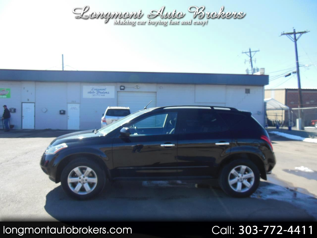 Nissan Murano AWD 4dr S 2007