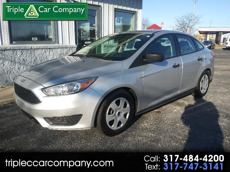 Ford Focus S Sedan 2016