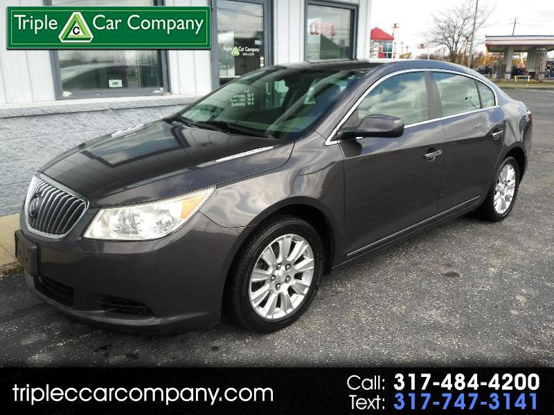 Buick LaCrosse 4dr Sdn CXL FWD 2013