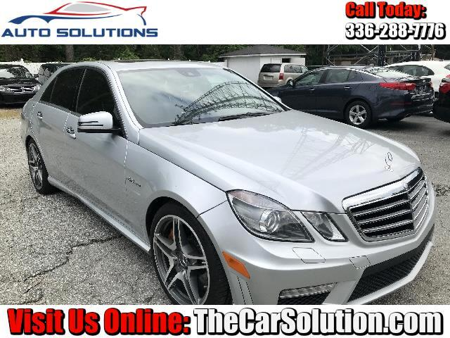 2011 Mercedes-Benz E-Class E63 AMG Sedan