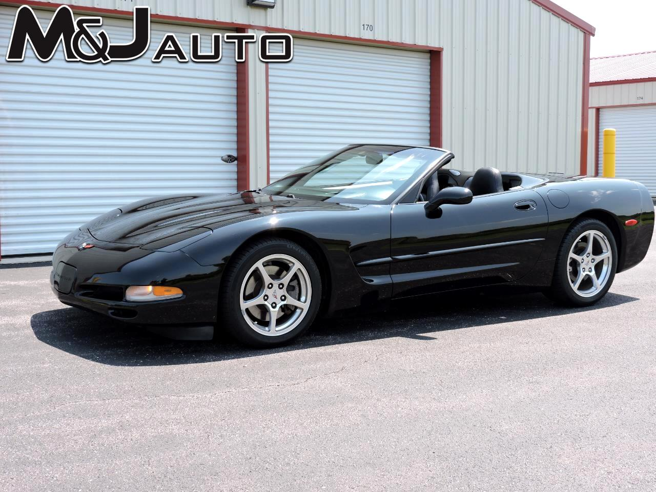 Used 2000 Chevrolet Corvette 2dr Convertible For Sale In
