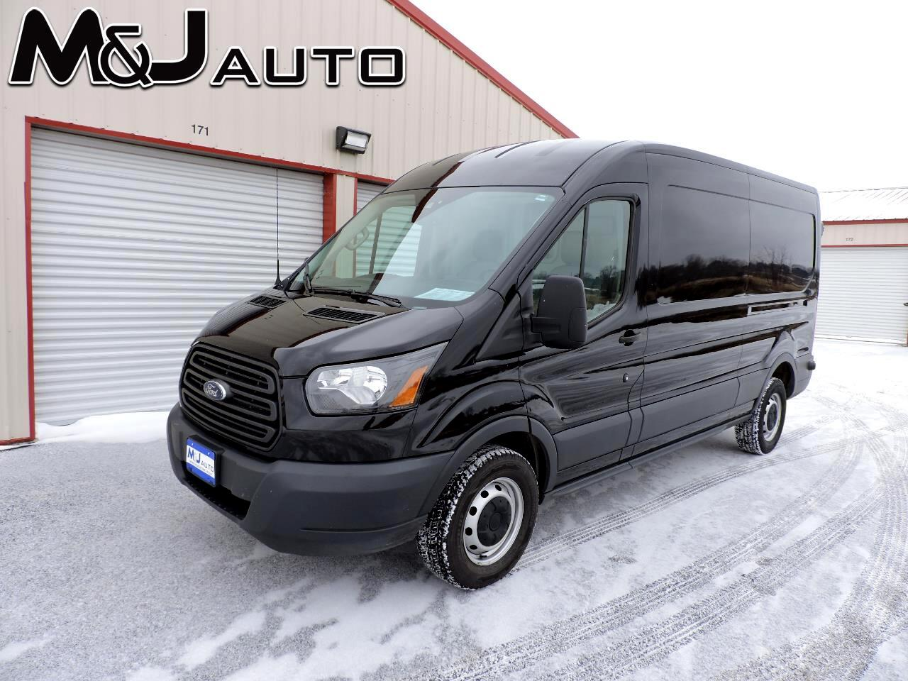 "Ford Transit Cargo Van T-250 148"" Med Rf 9000 GVWR Sliding RH Dr 2016"