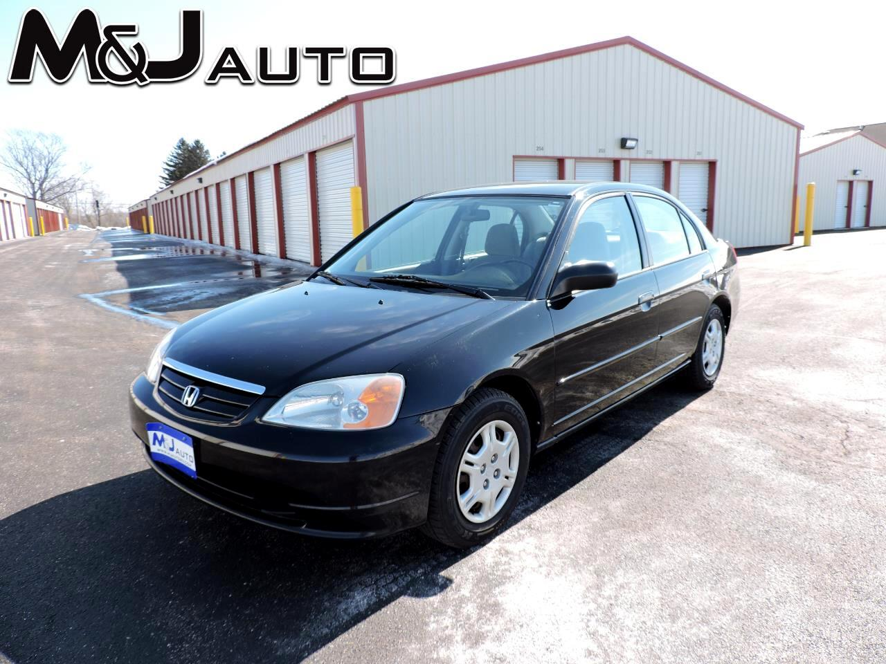 Honda Civic 4dr Sdn LX Auto 2001