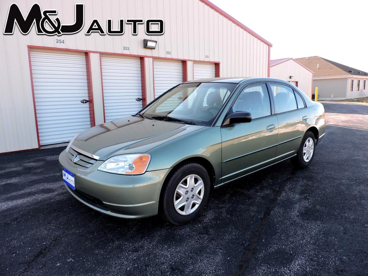 Honda Civic 4dr Sdn LX Auto 2003