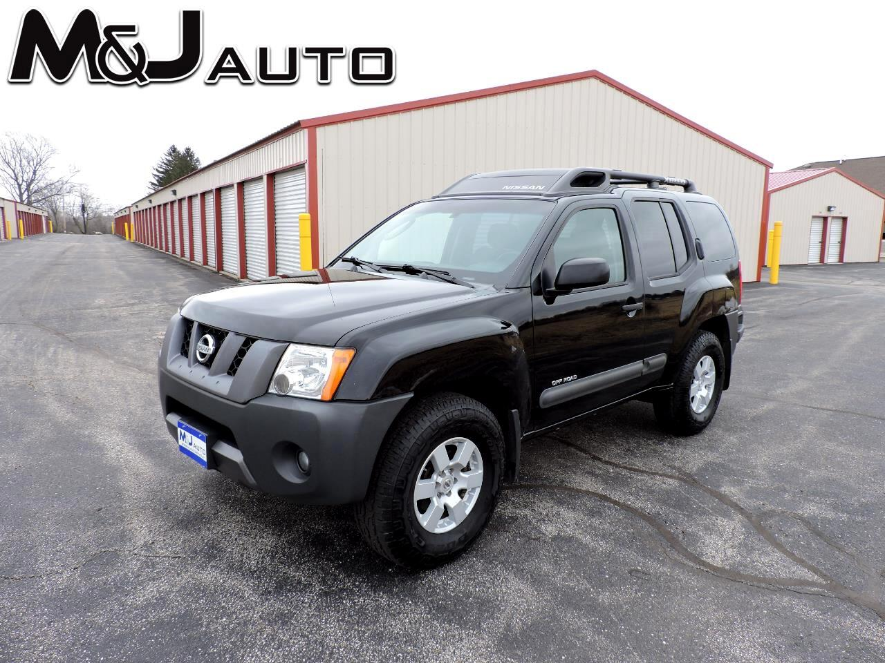 Nissan Xterra 4dr Off Road V6 Manual 4WD 2006