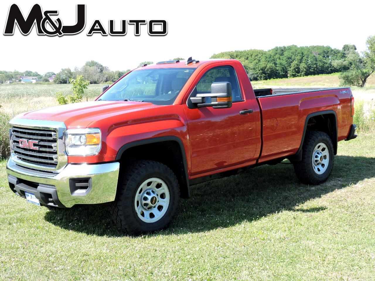 GMC Sierra 3500 Reg. Cab 8-ft. Bed 4WD 2015