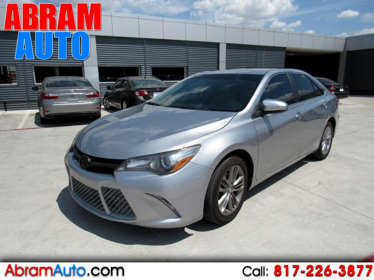 Buy Here Pay Here Arlington >> Buy Here Pay Here 2015 Toyota Camry Se For Sale In Arlington