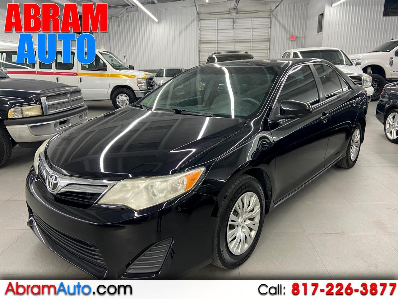 Toyota CAMRY/SE/L  2012