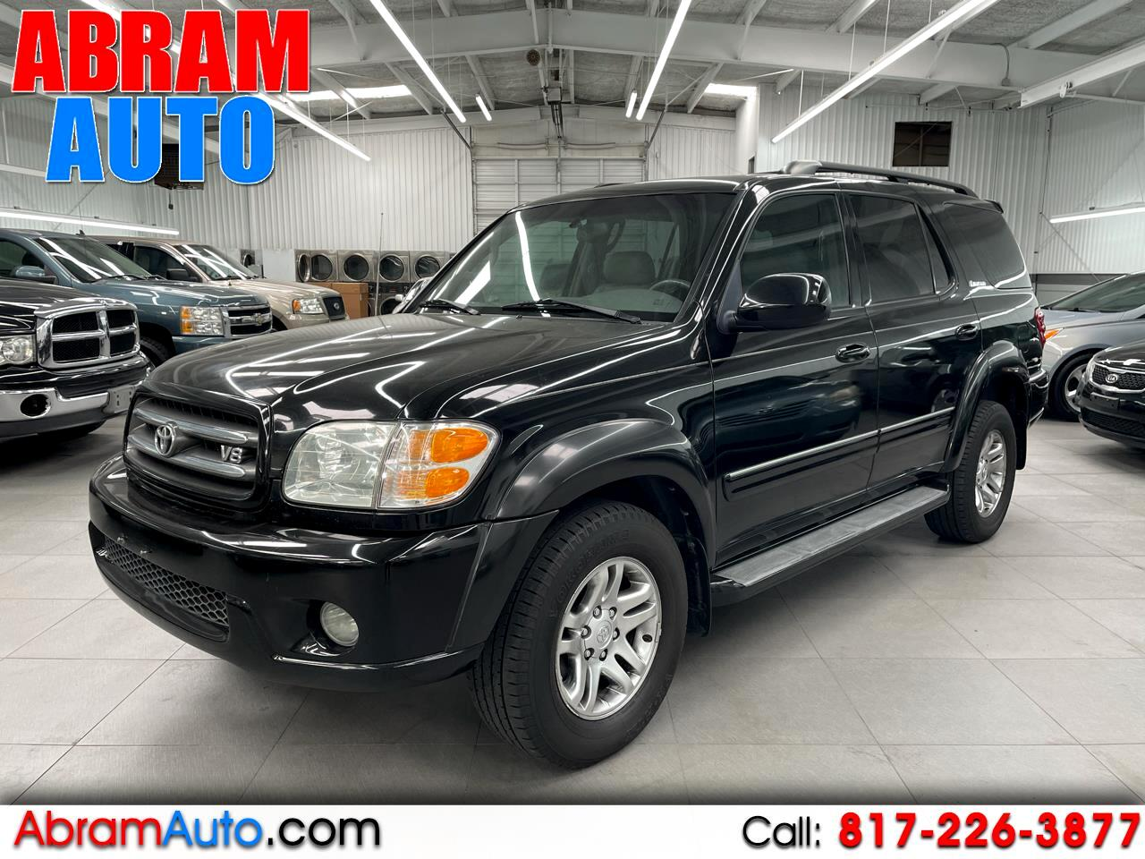 Toyota Sequoia 4dr Limited (Natl) 2004