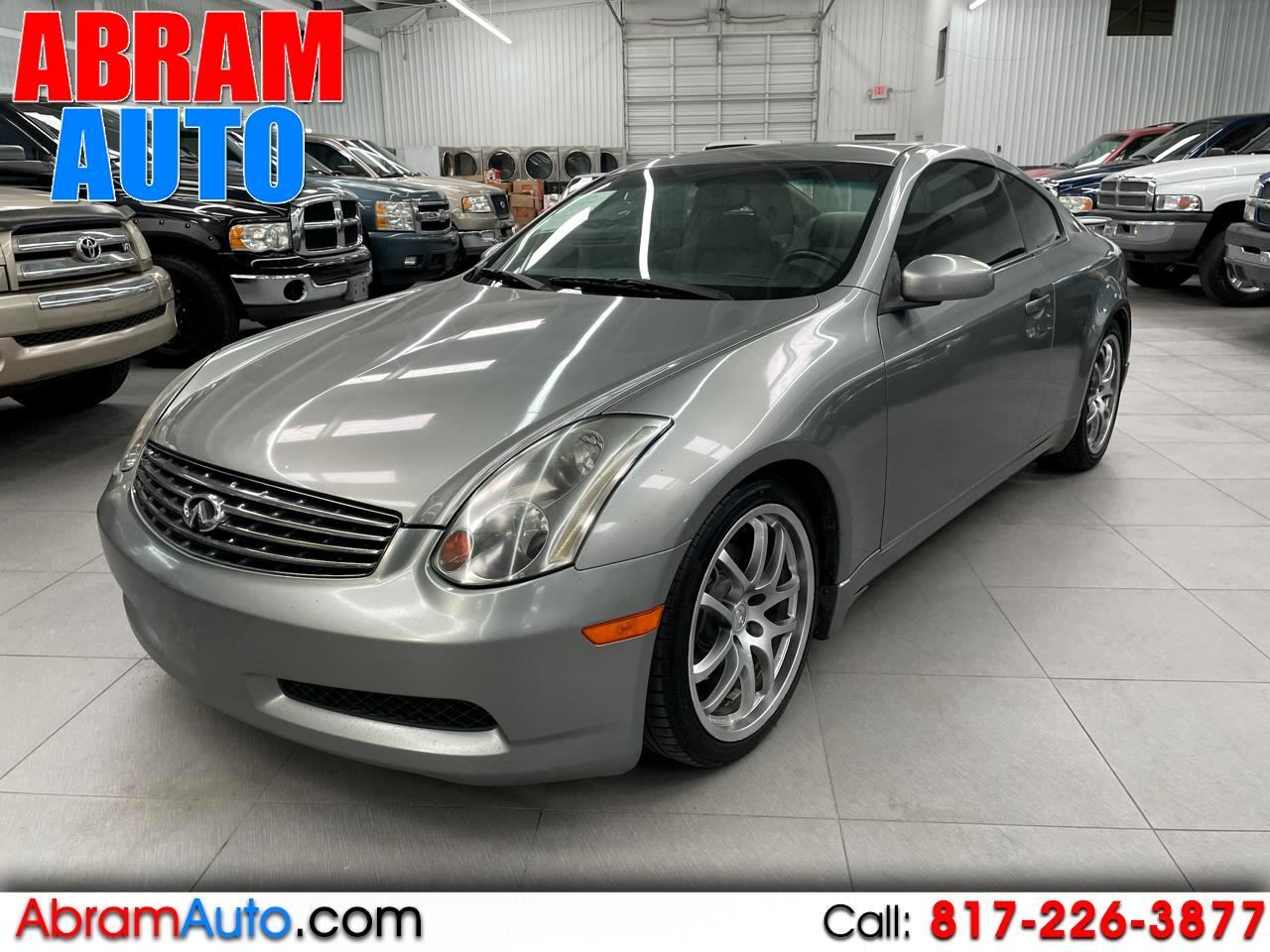 Infiniti G35 Coupe 2dr Cpe Auto w/Leather 2005