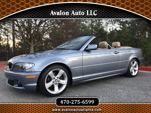BMW Series For Sale In Atlanta GA CarGurus - 2006 bmw 325ci convertible