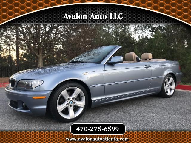 BMW Series For Sale In Atlanta GA CarGurus - 2006 bmw convertible