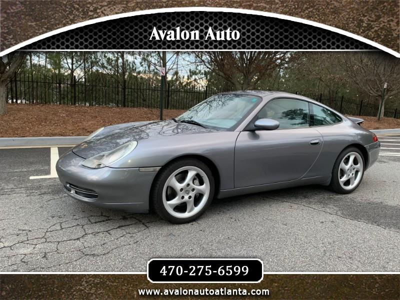 2001 Porsche 911 Carrera 4 Coupe