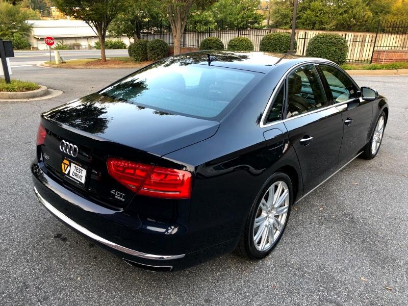 Audi A8 4.0L quattro 2013