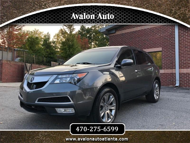 Acura MDX 6-Spd AT w/Advance Package 2012