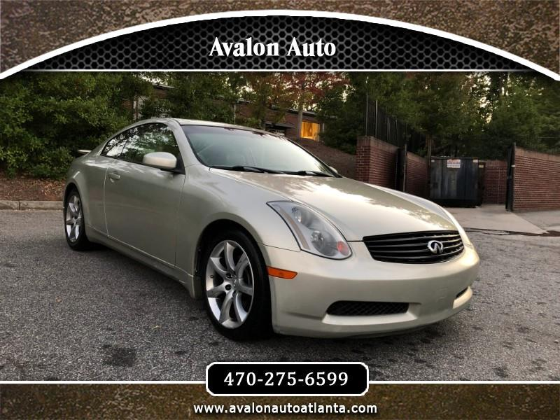 2005 Infiniti G35 Coupe with Leather