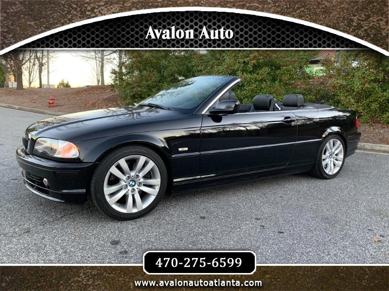 BMW 3-Series 330Ci convertible 2003