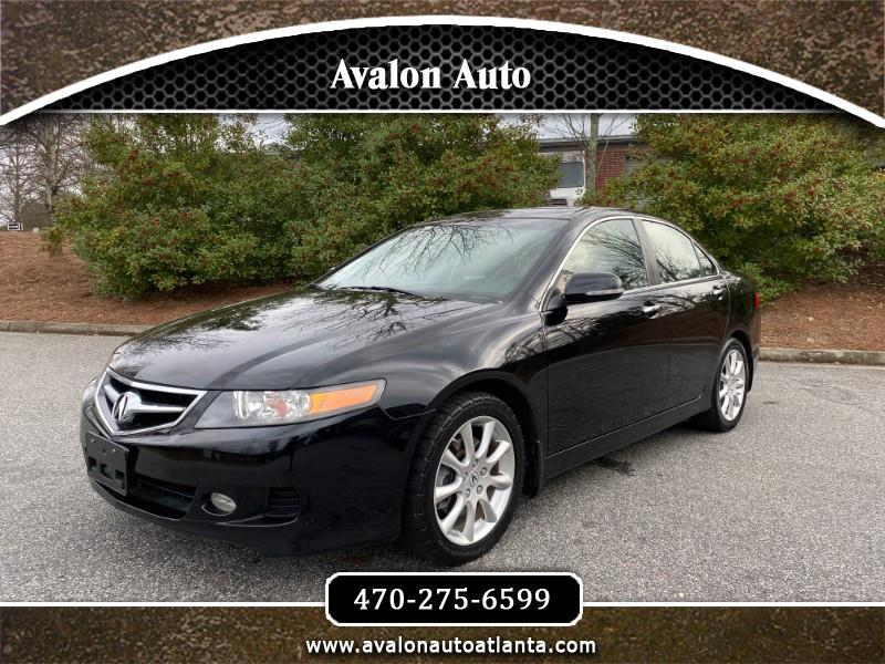 Acura TSX 5-speed AT with Navigation 2008